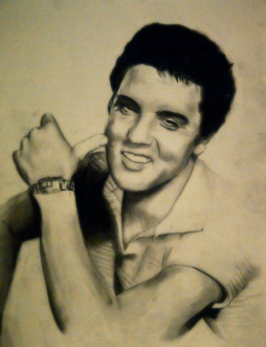 Elvis Presley por JLM23